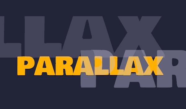 Vad är parallax scrolling?